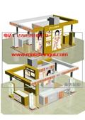 杭州化妆品展柜